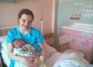 Duży noworodek Ksawery
