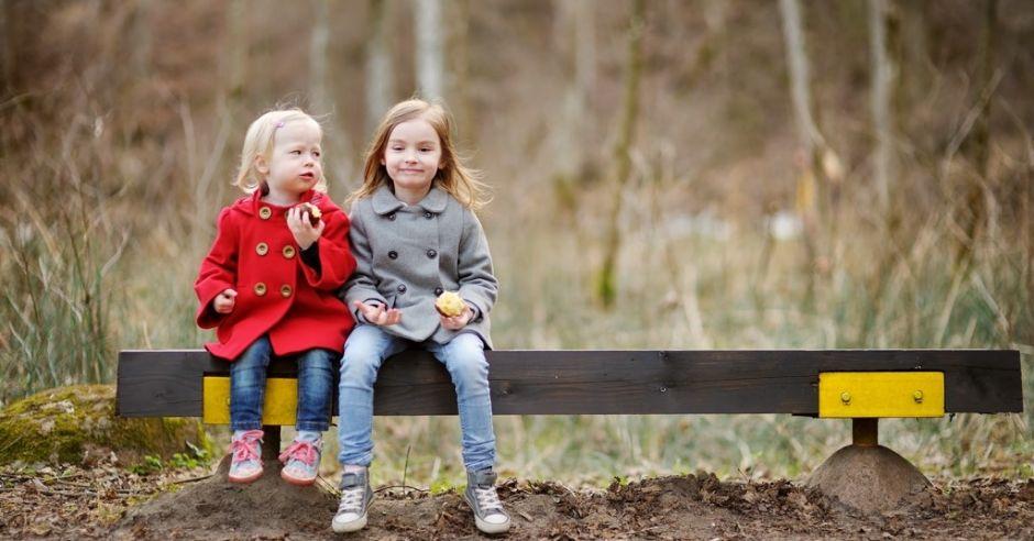 dwie dziewczynki
