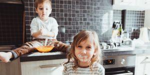 dwoje dzieci