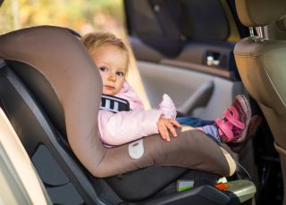 dwulatek, samochód, fotelik
