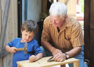 dziadek i wnuczek