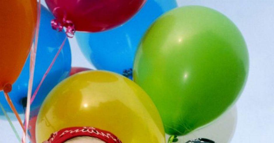 dzieci, balony