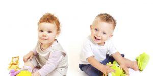 dzieci, chłopiec, dziewczynka