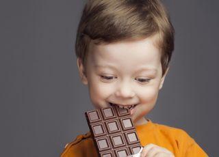 Dzieci chore na cukrzycę mogą jeść czekoladę o wysokiej zawartości kakao