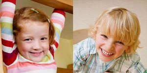 dzieci, dziewczynka, chłopiec, przedszkolaki