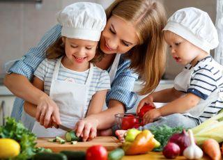 dzieci, gotowanie, dieta