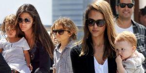 dzieci gwiazd, Jessica Alba, Halle Berry, Suri Cruise