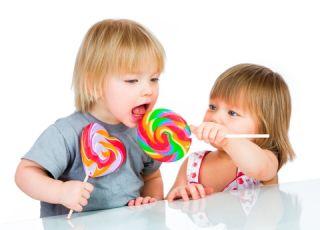 dzieci, lizak, przekąski, słodycze