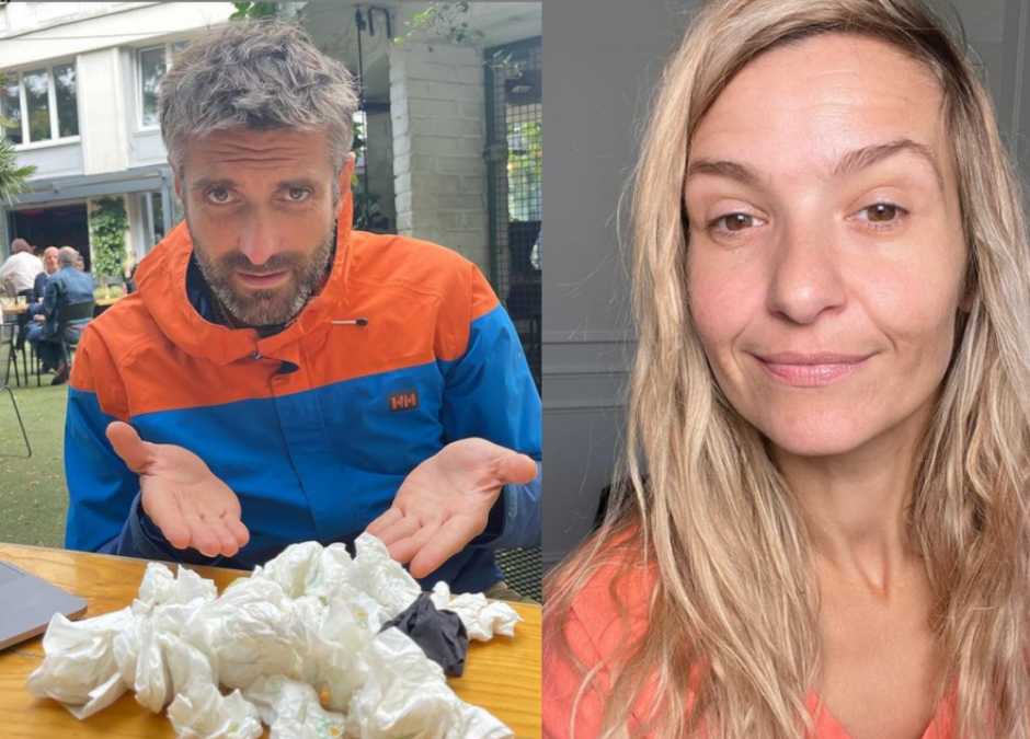 Dzieci Macieja Dowbora i Joanny Koroniewskiej przyniosły prezent w postaci kataru!