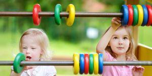 dzieci, matematyka, plac zabaw, zabawa