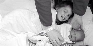 Dzieci Michelle Weston po powrocie ze szpitala