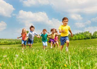 dzieci sa jak sportowcy
