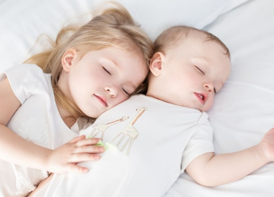 dzieci, sen, dziecko, rodzeństwo