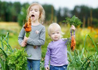 dzieci warzywa
