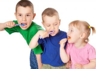 dzieci, zęby