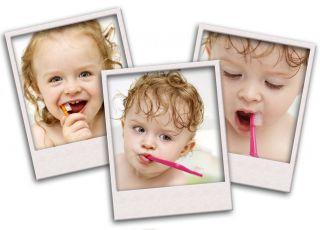 dzieci, zęby, zęby mleczne, mycie zębów
