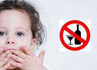 dziecko, alkohol