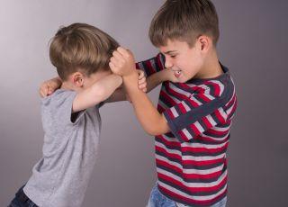 dziecko bije innych, agresja dziecięca
