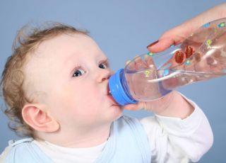 dziecko, butelka