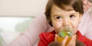 dziecko, butelka, pić