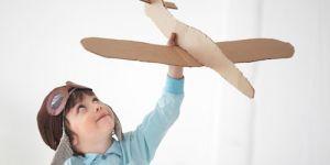 dziecko, chłopiec, zawody, pilot