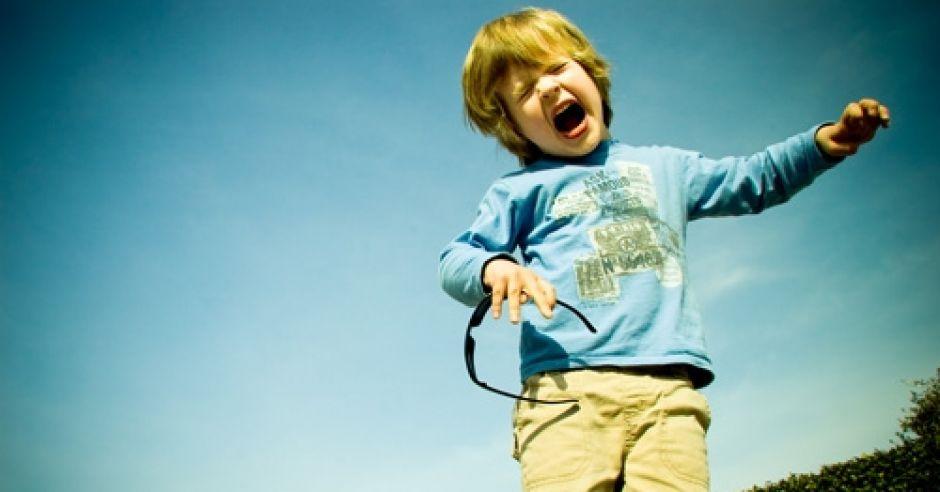 dziecko, chłopiec, złość, histeria