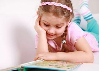 dziecko, czytać, książka