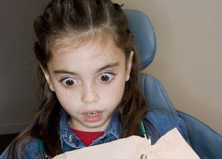 dziecko, dentysta, lekarz, strach