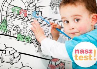 dziecko, dziecko rysuje, tapeta, nasz test
