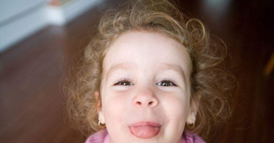 dziecko, dziewczynka, język