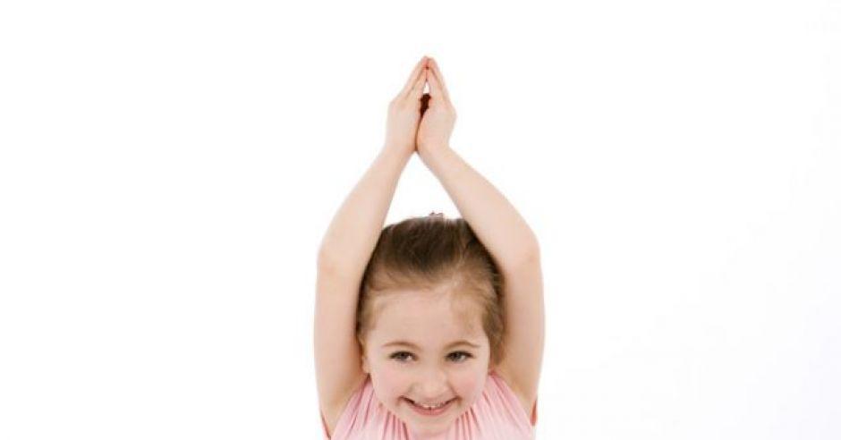 dziecko, dziewczynka, sport, balet, przedszkolak