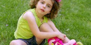 dziecko, dziewczynka, sport, rolki
