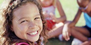 dziecko, dziewczynka, uśmiech