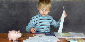 Dziecko, finanse, pieniądze, spadek, długi