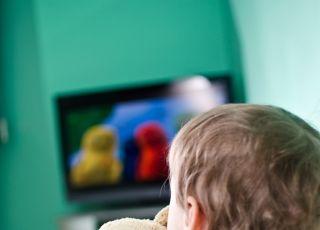 dziecko i telewizja, dziecko przed tv