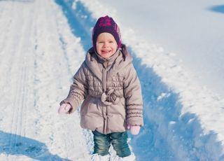 dziecko i zima