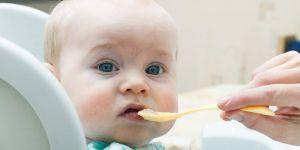 Dziecko je kaszkę