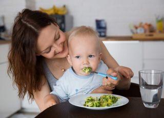 Dziecko je warzywa