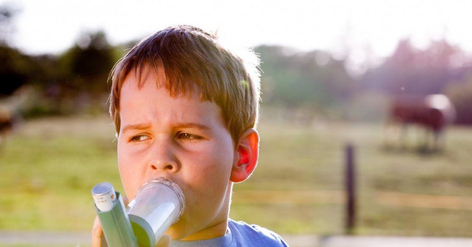 dziecko, kaszel, alergia wziewna, duszność