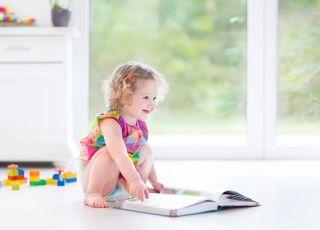 dziecko, klocki, zabawa, ksiażka