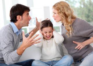 Dziecko, kłótnia rodziców, rozwód