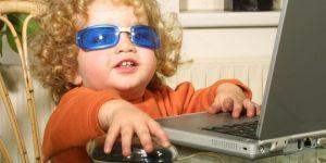 dziecko, komputer