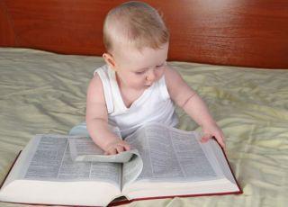dziecko, książka