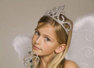dziecko, księżniczka, przebranie, dziewczynka