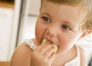 dziecko, kuchnia, jeść