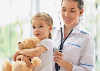 dziecko, lekarz, badania