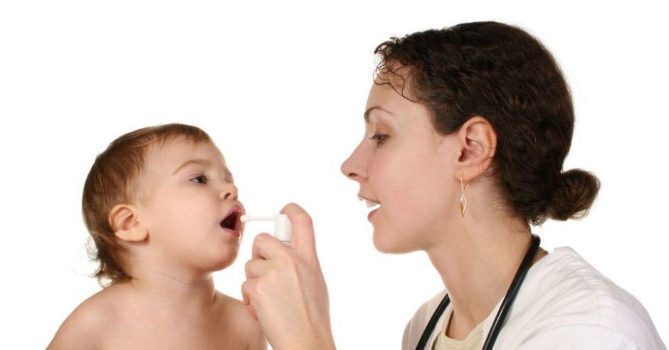 dziecko, lekarz, badanie