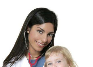 dziecko, lekarz, dwulatek, badanie