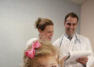 dziecko, lekarz, mama, badanie, zdrowie dziecka