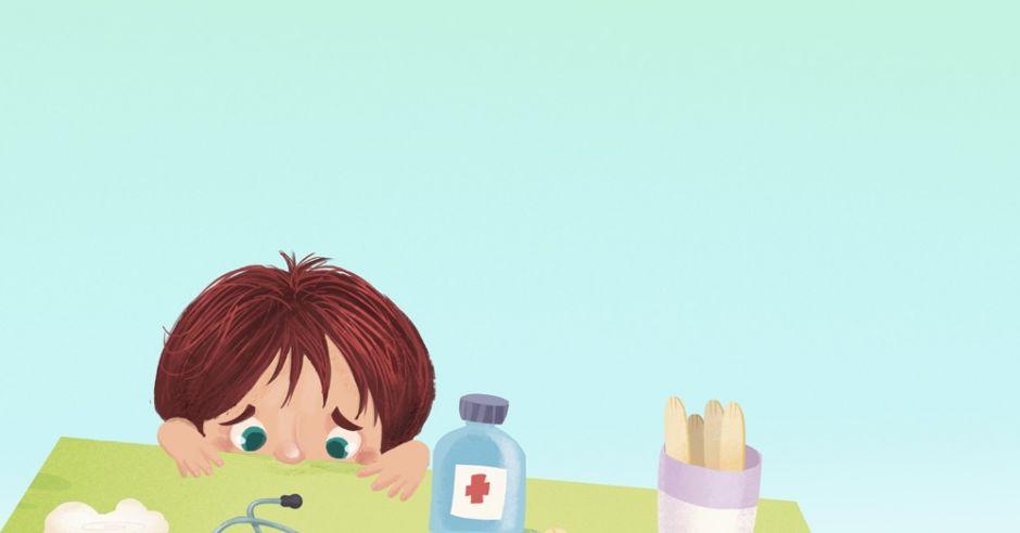 dziecko, lekarz, strach, lęk